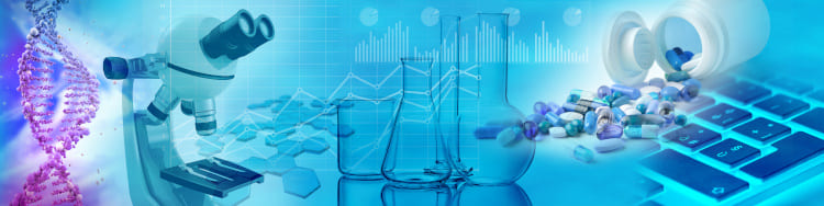 biochemistry research concept background